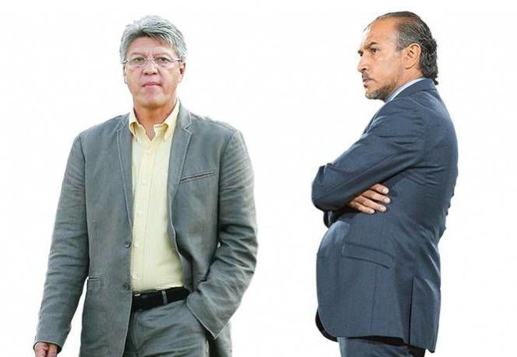 Jesús Ramírez y Raúl Gutiérrez, técnicos triunfadores con selecciones menores comparten sus experiencias como formadores de jóvenes jugadores. (Excelsior)