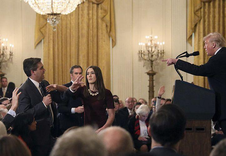 El incidente que generó la decisión de la Casa Blanca sobre Acosta ocurrió la semana pasada. (RT)