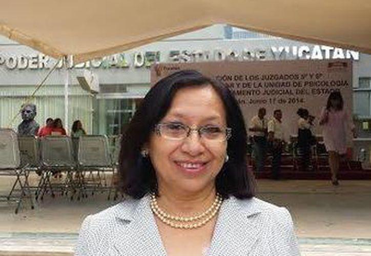 La consejera de la judicatura del poder judicial, Fanny Iuit Arjona, resaltó que ahora con ese tipo de divorcios, los hijos menores sufren menos. (Milenio Novedades)