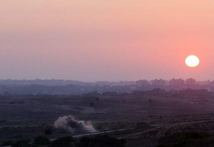 La misión negociadora de Palestina había anunciado previamente que aceptaría una tregua en Gaza. (EFE)