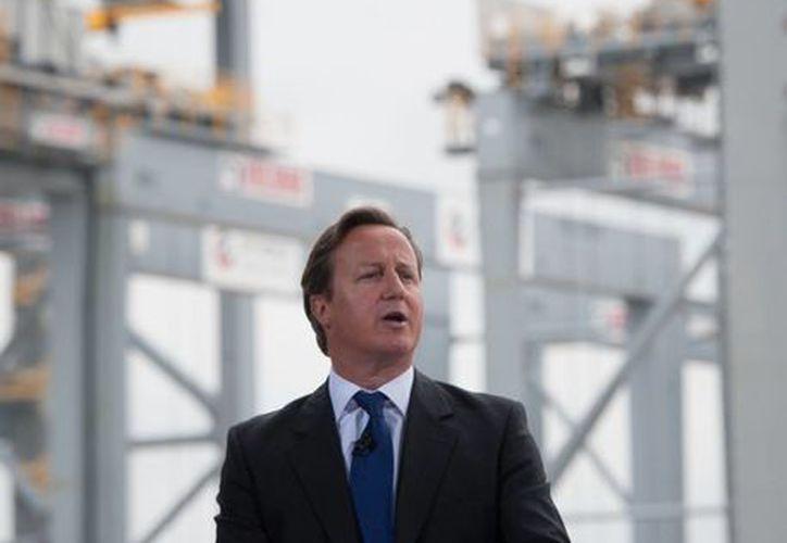 Cameron dijo que la actuación de la Inteligencia es legal. (Agencias)