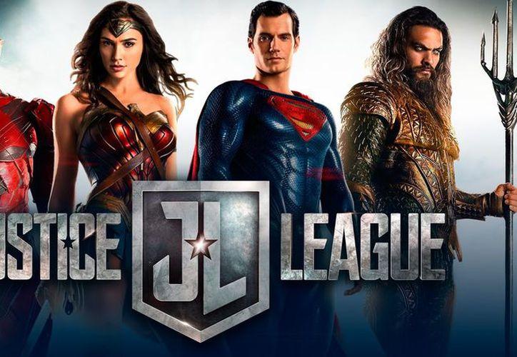 Justice League es la película número 1 en Estados Unidos y Canadá. (Warner Bros).