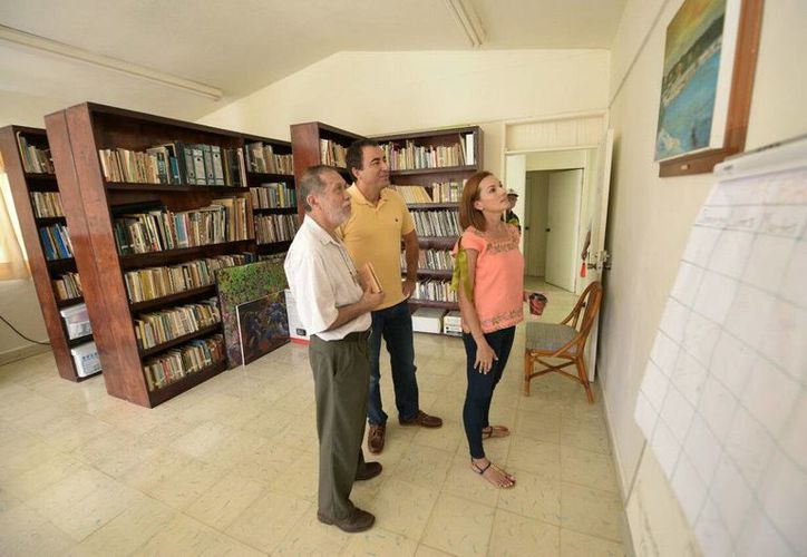 La Casa Internacional del Escritor de Bacalar se encuentra en la última etapa de su remodelación. (Redacción/SIPSE)