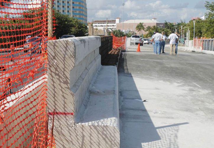 Las modificaciones al muro se realizarán a partir del 15 de enero. (Jesús Tijerina/SIPSE)