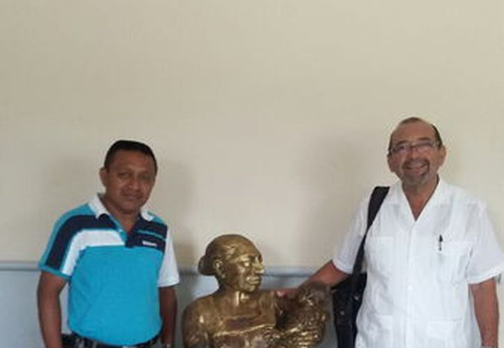 La estatua fue robada el pasado 12 de junio (Foto: Milenio Novedades)