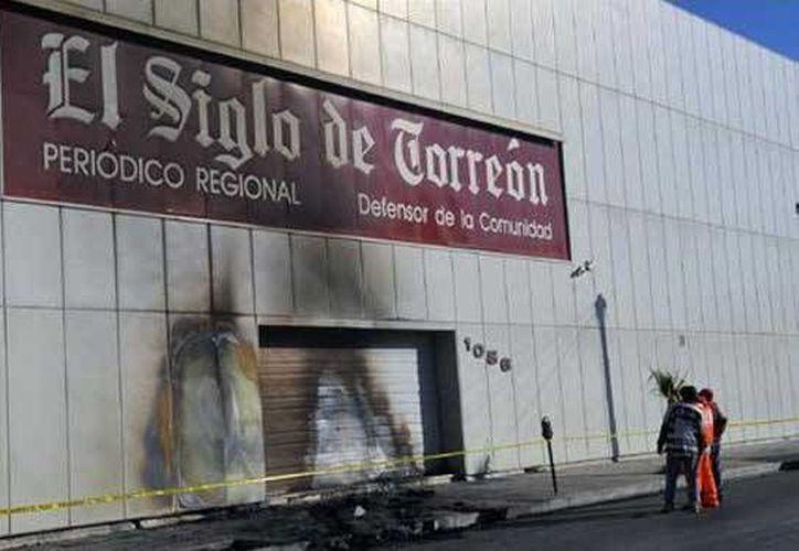 Fachada del diario Siglo XXI de Torreón, Coahuila. (http://amqueretaro.com)
