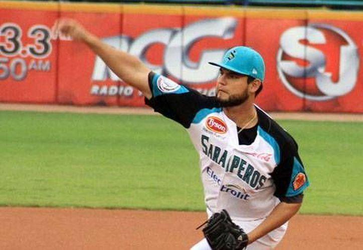 Mario Meza, procedente de Saltillo, tiene marca de 1-1 en esta temporada. (Milenio Novedades)