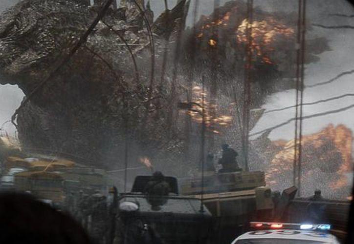 Fotograma cedido por Warner Bros. Pictures España, que muestra una escena de 'Godzilla'. (EFE)