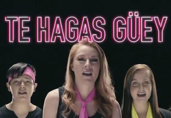 Entre las personalidades que decidieron participar en la campaña se encuentran Daniela Magun, Natasha Dupeyrón y Sherlyn. (YouTube)