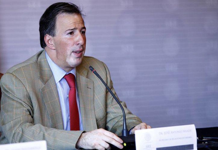 El titular de la Secretaría de Relaciones Exteriores, José Antonio Meade. (Archivo/Notimex)