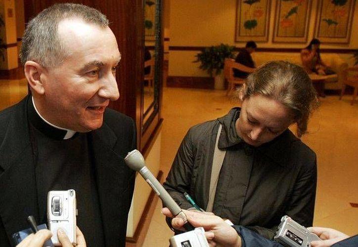Pietro Parolin será el segundo en autoridad en el Vaticano. (Archivo Agencias)