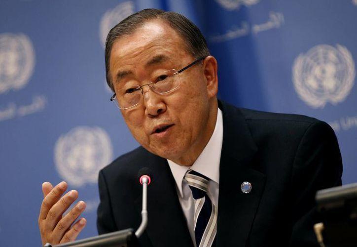 Ban Ki Moon, secretario general de Naciones Unidas, dio un mensaje por el Día Mundial de los Océanos. La foto corresponde al año pasado. (ibtimes.co.uk)