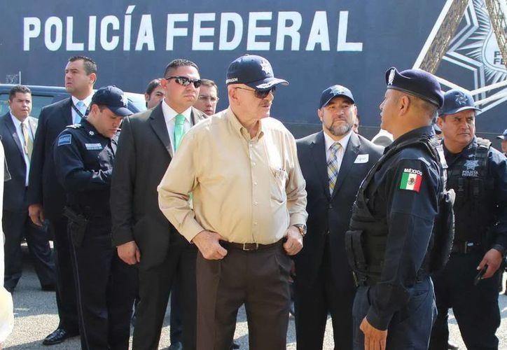 Mondragón: es posible que los carteles de la droga en Tepito tengan conexiones afuera. (Notimex)