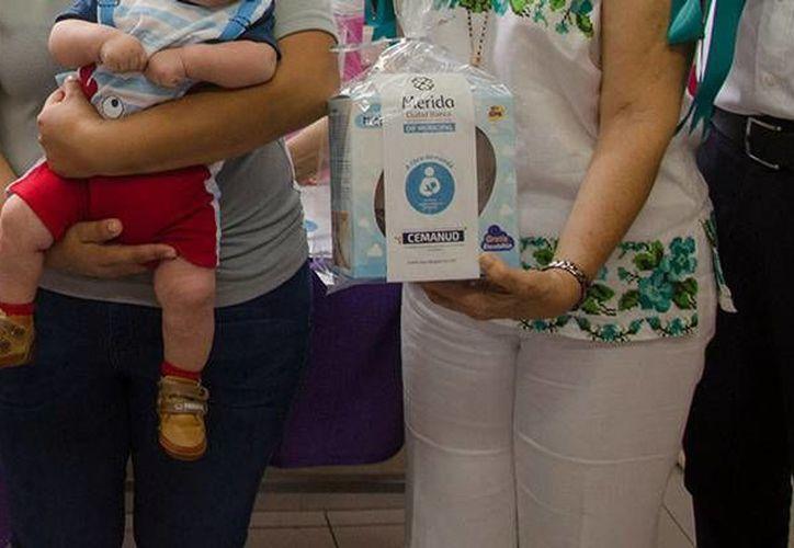 Las madres trabajadoras de la empresas de salsas y condimentos La Anita, en Yucatán, ya tiene un lactario. (Cortesía)