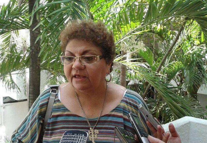 Latifa Muza Simón dijo que Jaime Hernández Zaragoza está mintiendo. (Jesús Tijerina/SIPSE)