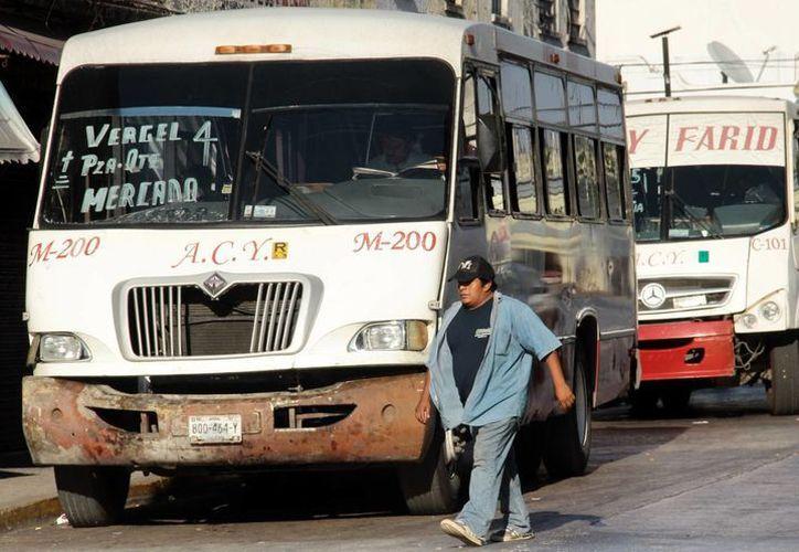 Está pendiente la compra de los nuevos autobuses que se utilizarán para la ruta periférico. (Milenio Novedades)