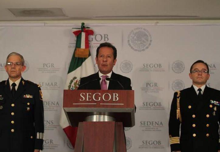 Eduardo Sánchez dijo que  ha dado resultado el llamado del gobierno a la ciudadanía para denunciar. (Archivo SIPSE)