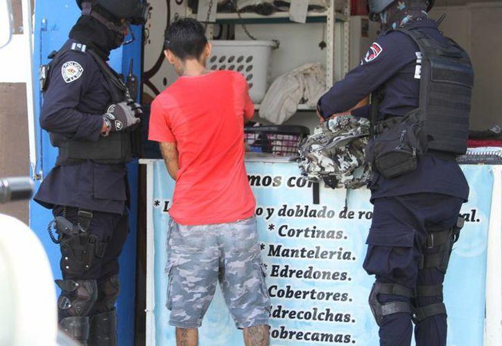 El delito de robo con violencia fue cometido por el 35% de los adolescentes detenidos. (Foto: Eddy Bonilla)