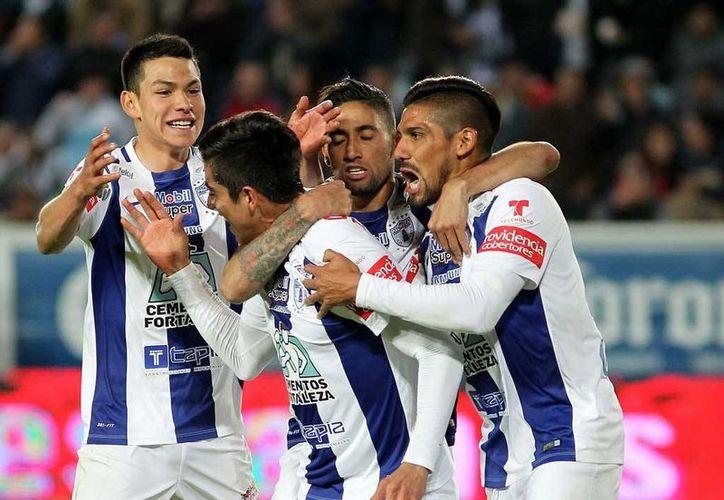 El Pachuca llegó a 12 unidades este domingo tras golear al Puebla con un 5-2 en el Estadio Hidalgo de la 'Bella Airosa'. (Archivo Mexsport)