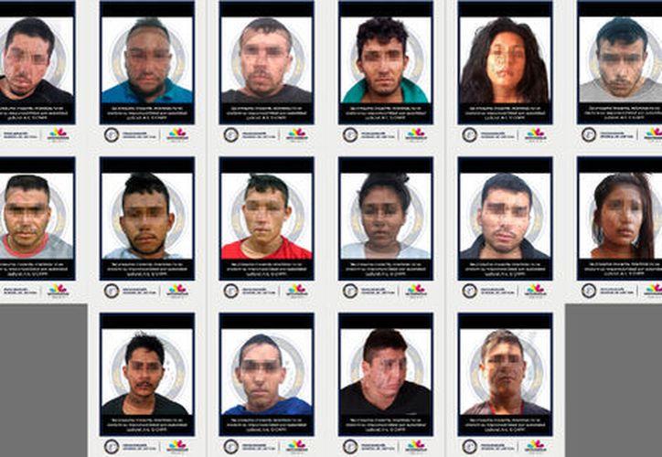 Entre los 18 detenidos se encuentra el sobrino de 'El Mencho'. (Especial)
