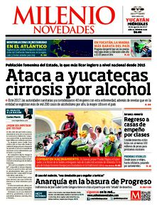 Ataca a yucatecas cirrosis por alcohol