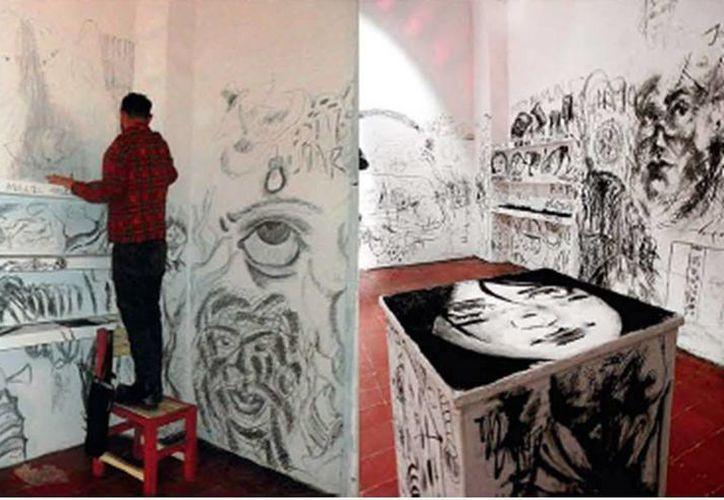 Artistas visuales presentan por cinco días sus obras en las instalaciones del Centro de Artes Visuales. (Milenio Novedades)