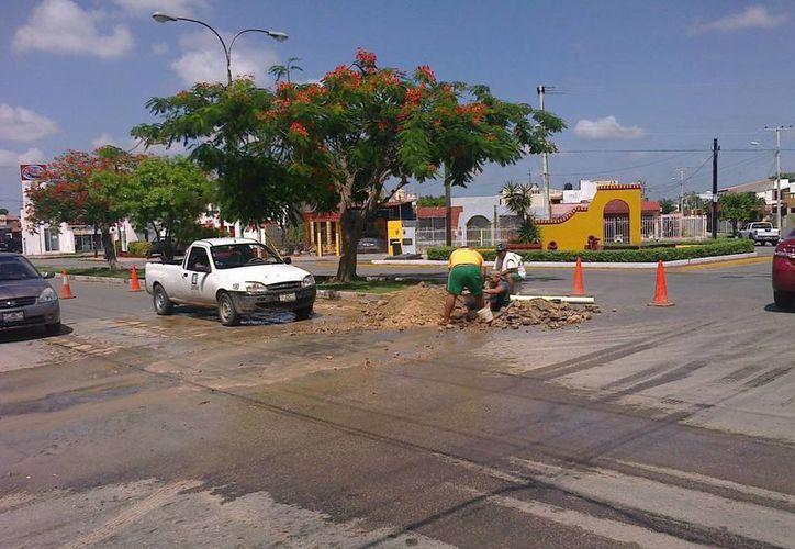 La Japay realiza trabajos en diversas zonas de Mérida. (SIPSE)