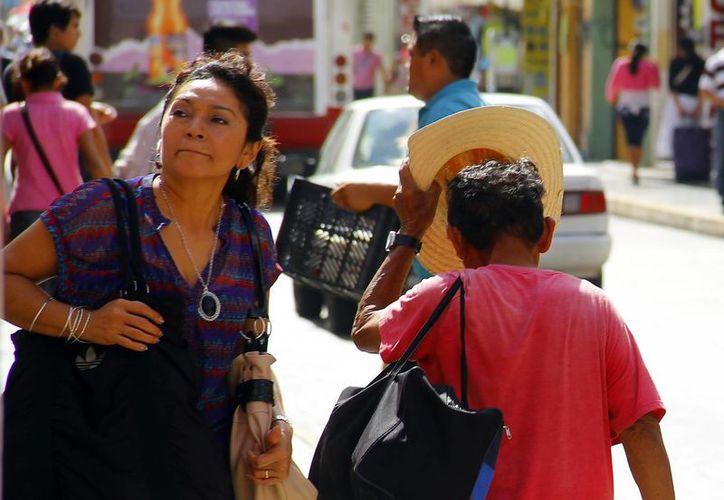 Este miércoles los termómetros marcaron una temperatura máxima de 32.6 grados y una mínima de 20.7 en Mérida. (Milenio Novedades)