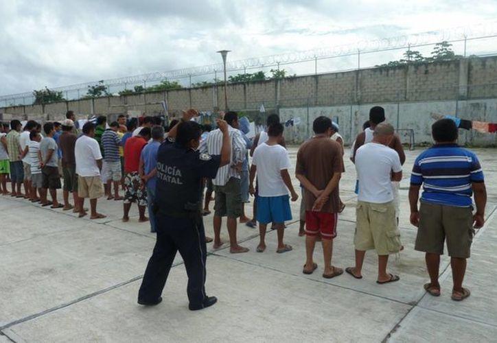 La cárcel municipal de Cozumel se encuentra sobrepasada al 100% de su capacidad. (Irving Canul/SIPSE)