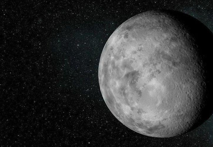 Recreación artística facilitada por la NASA del exoplaneta Kepler-37b, el más pequeño de los hallados hasta el momento.(EFE)