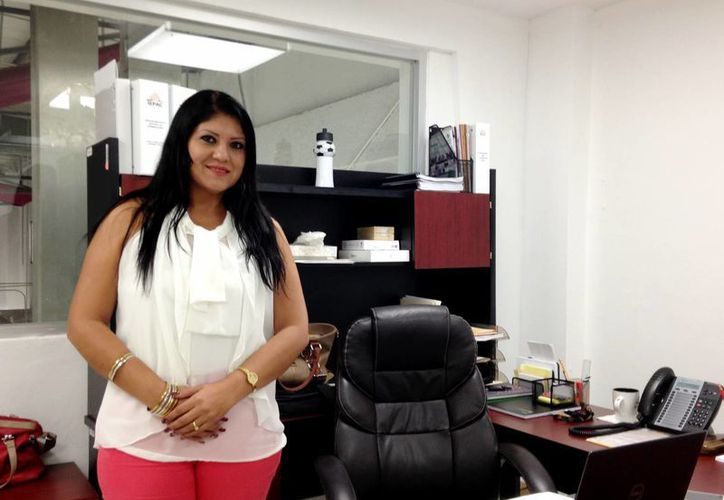 Naybi Janeth Herrera, presidenta de la Comisión de Transparencia del Iepac. (Milenio Novedades)