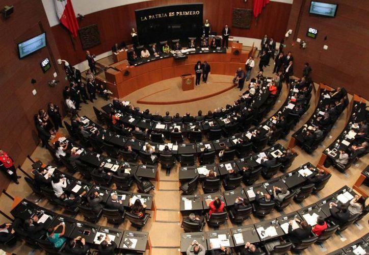 En el Senado de la República recibió las propuestas para elegir a los integrantes del nuevo Instituto Nacional de Evaluación de la Educación. (Notimex)