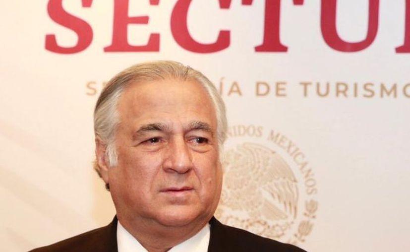 """Para 2019, se estima el arribo de 43 millones de turistas internacionales, 4.7% más respecto a 2018"""":  Miguel Torruco, Secretario de Turismo.(Redacción/SIPSE)"""