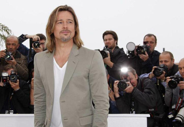 Brad Pitt anclará la embarcación en Francia en los próximos días. (EFE/Archivo)