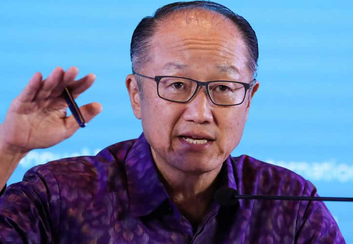 Jim Yong Kim dejará la presidencia del Banco Mundial a partir del 1 de febrero. próximo. (Bloomberg)