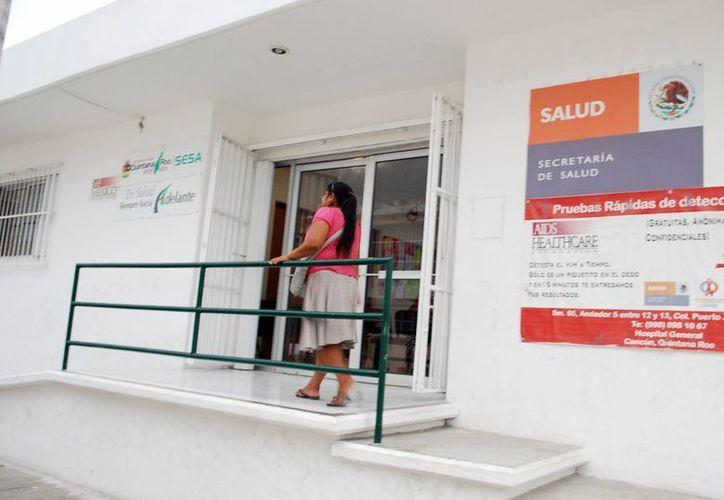 Causa inconformidad el desabasto en el sector Salud de pruebas rápidas para detectar el VIH. (Tomás Álvarez/SIPSE)