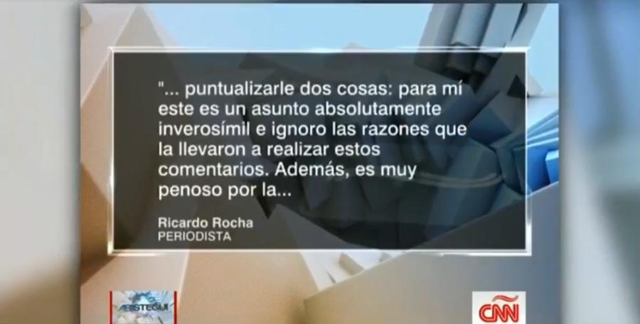 Sofía Niño de Rivera acusó a este periodista — Es muy acosador