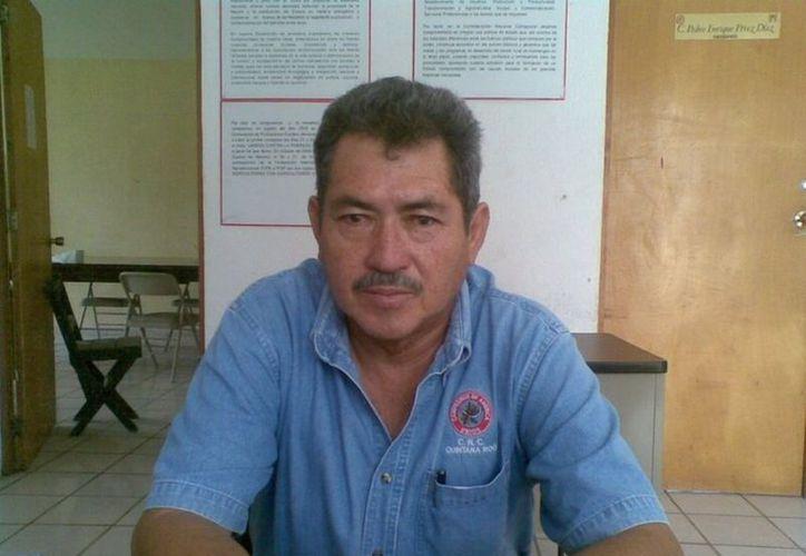 El líder del PRI, Carlos Castilla Sánchez, dijo que los resultados de las elecciones pasadas fueron afectados por el mal gobierno. (Juan Palma/SIPSE)
