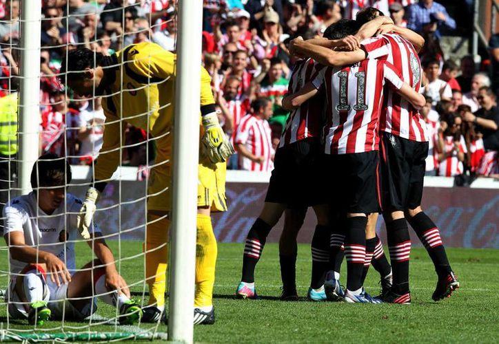 El Athletic aseguró su permanencia en la Primera División. (Foto: EFE)