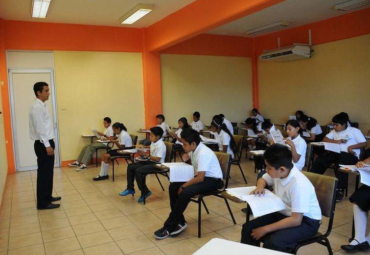 La evaluación se aplicará en 803 planteles educativos, incluyendo alumnos con necesidades educativas especiales. (Benjamín Pat/SIPSE)
