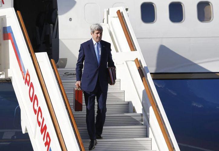 Hasta el momento, John Kerry ha visitado 81 países distintos, menos que su antecesora Hillary Clinton, quien estuvo en 112 como secretaria de Estado de EU. (EFE)