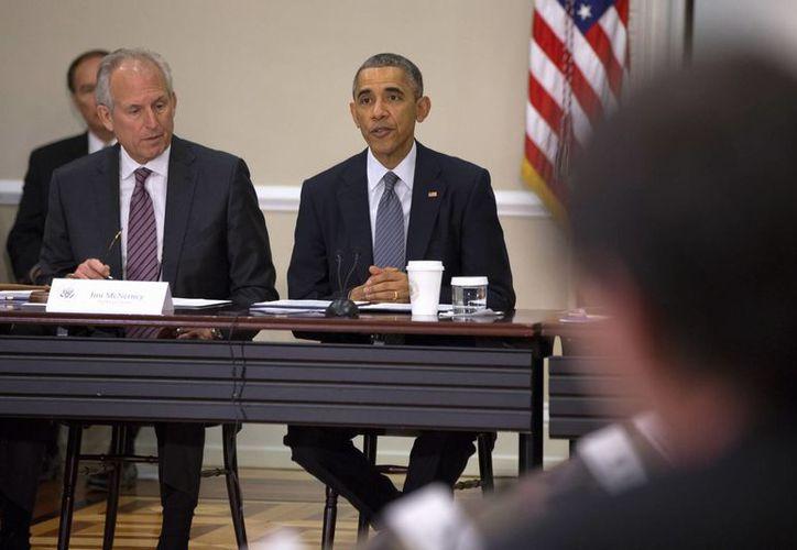 Obama solicitó recursos adicionales para el combate al ébola. (AP)