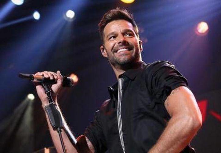 Ricky Martín incluyó a Mérida, en su gira que realizará por diferentes ciudades del mundo a finales de año.(Notimex)