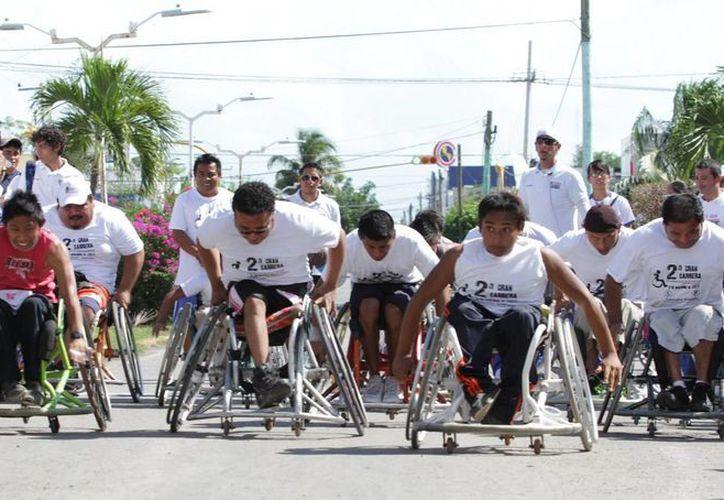 Las personas con alguna discapacidad logran un mejor desarrollo con algún deporte. (Contexto/Internet)