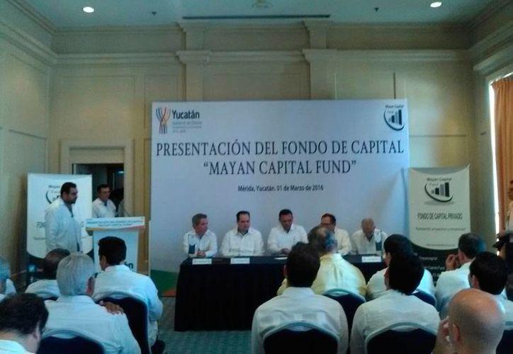 Se presentó el Mayan Capital Fund, organismo que financiará nuevas empresas en Yucatán. (Cecilia Ricárdez/SIPSE)