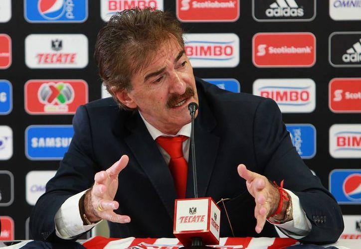 La Volpe explotó en su momento contra la prensa por un artículo en el que ponía en su lugar al 'Kikín' Fonseca. (Foto: Agencias)