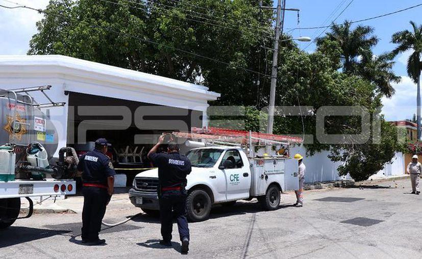 El cuerpo del 'mozo' fue entregado a sus familiares para los servicios fúnebres en su natal Bokobá. (SIPSE)