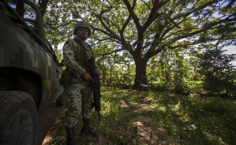 Este sábado se publicó el reglamento de la Guardia Nacional. (AP/Oliver de Ros)