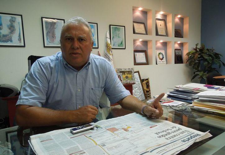 Fernando Medina Gamboa ha integrado la lista de deudores del PAN. (Milenio Novedades)