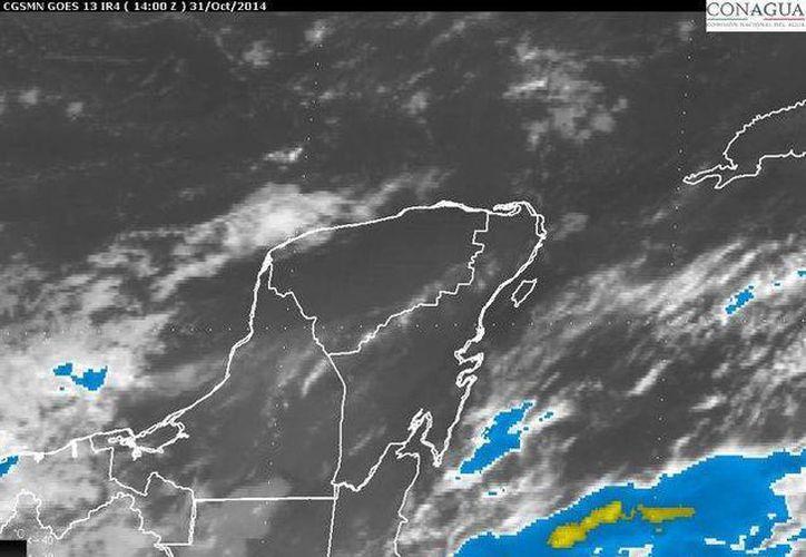 La Península de Yucatán mantendrá cielo de medio nublado a nublado. (Redacción/SIPSE)